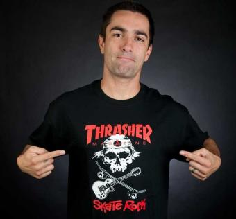 Tričko Thrasher  Skate Rock T-Shirt