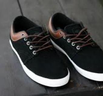 Boty VANS - Pacquard black/brown/white 11,5