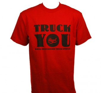 Tričko Royal Truck You T Shirt red