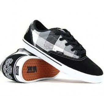 Vans Skate shoes offers Vans AV Era (Flannel/Black/White) 44,5