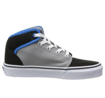 Vans 106 Mid Black/Gray/Brilliant Blue