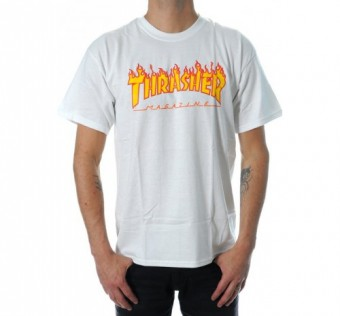 Triko Thrasher Flame White