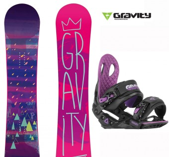 Snowboard set Gravity