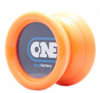 One yoyo orange