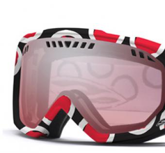 Snb Brýle SMITH - SCOPE GRAPHIC Black/Red Dots