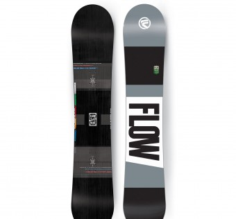 Snowboard Flow Merc black
