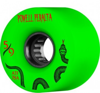 Kolečka Powell Peralta ATF 59mm 78A Wheel Green
