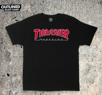 Triko Thrasher OUTLINED Black