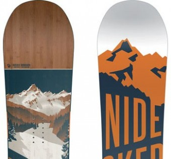 Snowboard NIDECKER - Escape Black Edition