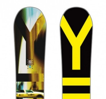 Snowboard YES - Big City 154cm