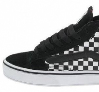 Boty VANS No Skool 2 mid, multi checkers/black us 11