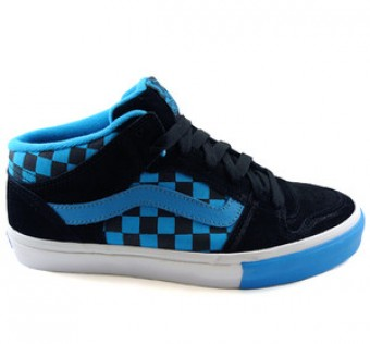 Boty VANS TNT 2 mid checkered past/black/blue us 11