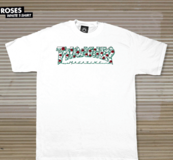 Thrasher - Roses T-Shirt - white