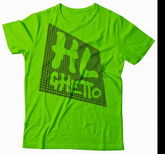 Tričko HL Ghetto - 3D aplle green/black