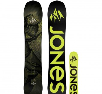 Snowboard JONES - Explorer Black
