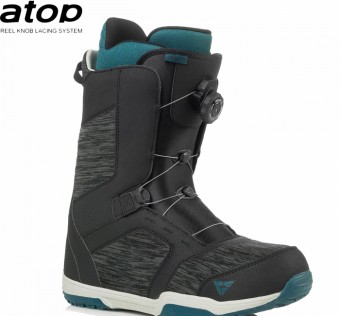Boty na snowboard Gravity Recon Atop black/blue 2018/2019