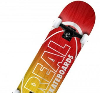 Skate komplet REAL komplet MTLLC OVAL FADE RED/YEL