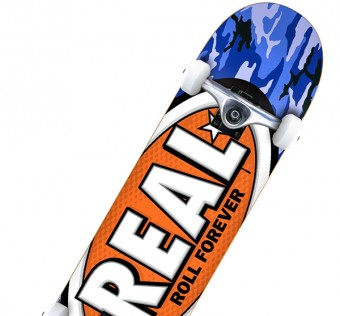 Skate Komplet REAL NEW AWOL OVAL BLU 7,38