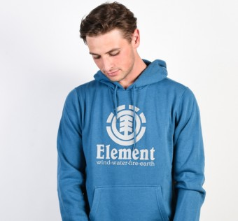ELEMENT mikina VERTICAL BLUE STEEL