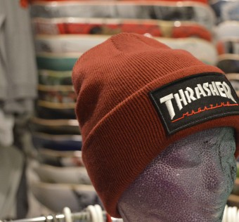 Kulich Thrasher Logo Patch Maroon Holiday 2018