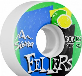 Kolečka BONES WHEELS STF Pro FELLERS  V2 Wheel 52mm 4pk